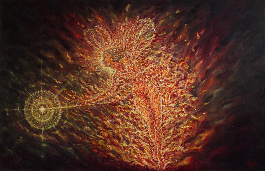 Firefairy by Damian Clark