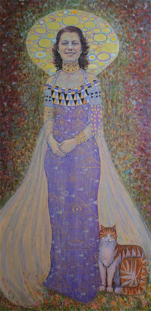 Pamela Anne Twidle (Full painting) D Clark