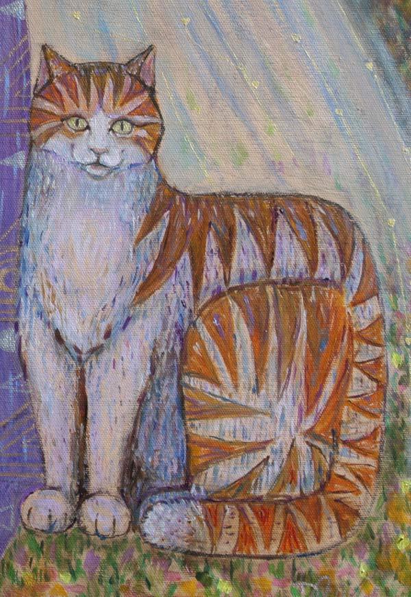 Pamela Anne Twidle (Cat Detail)  D Clark
